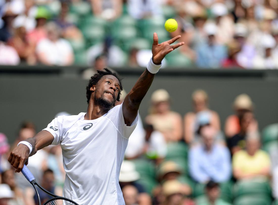 Wimbledon 2017 Day 4, Gael Monfils