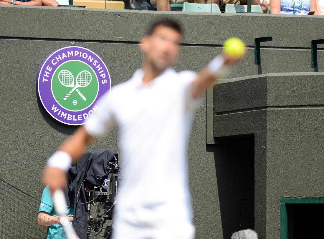 Wimbledon 2017 Day 4, Novak Djokovic