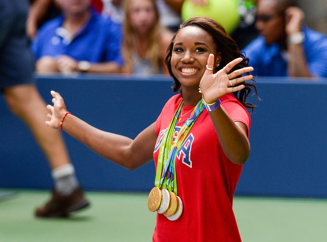 Simone Manuel, 2016 US Open