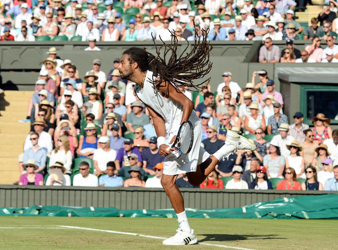 Wimbledon 2017 Day 3, Dustin Brown