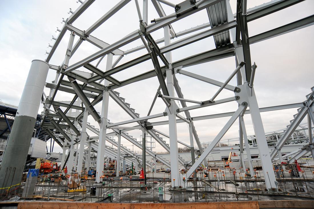 USTA Construction, USTA Billie Jean King National Tennis Center