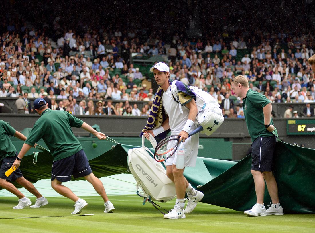 Wimbledon 2017 Day 1, Andy Murray