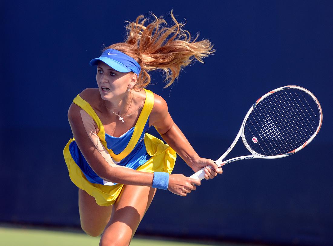 Maryna Zanevska, 2016 US Open