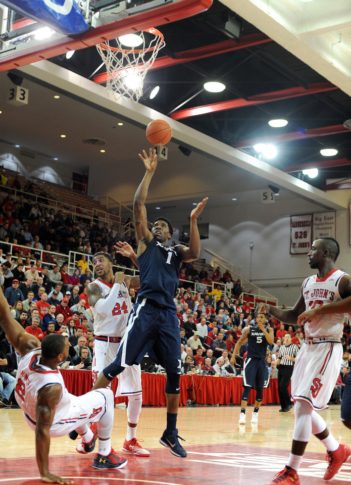 NCAA MBB: Xavier Musketeers at St John's Red Storm