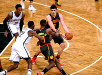 NBA: Brooklyn Nets vs. Atlanta Hawks, Ersan Ilyasova