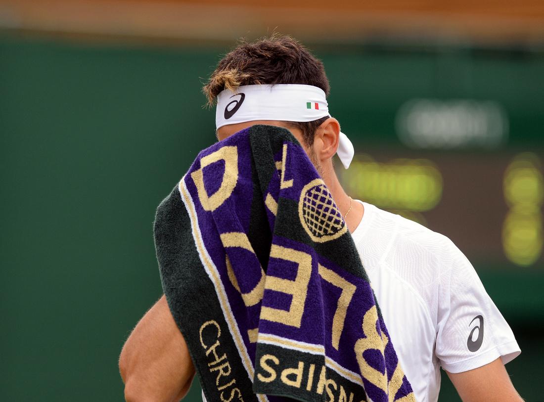 Wimbledon 2017 Day 1, Thomas Fabbiano