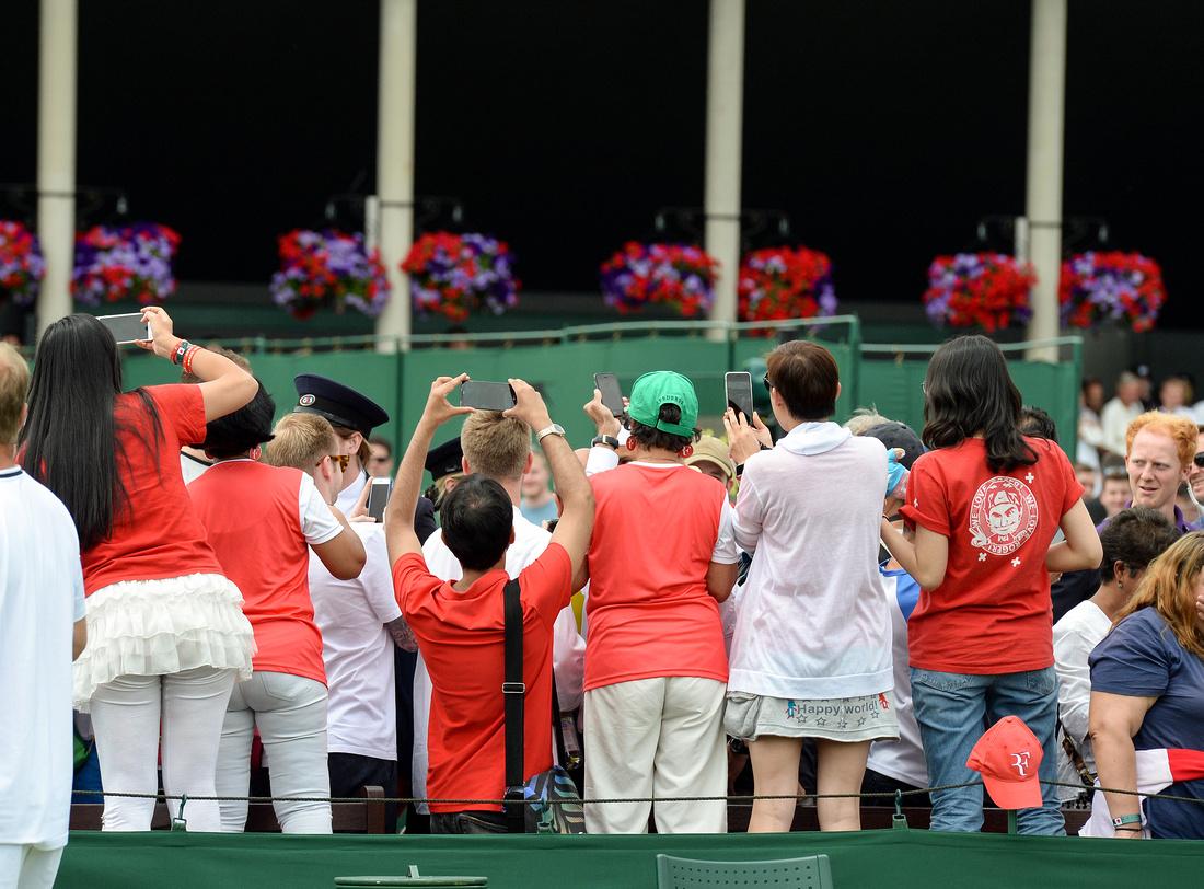 Wimbledon 2017 Day 2, Roger Federer