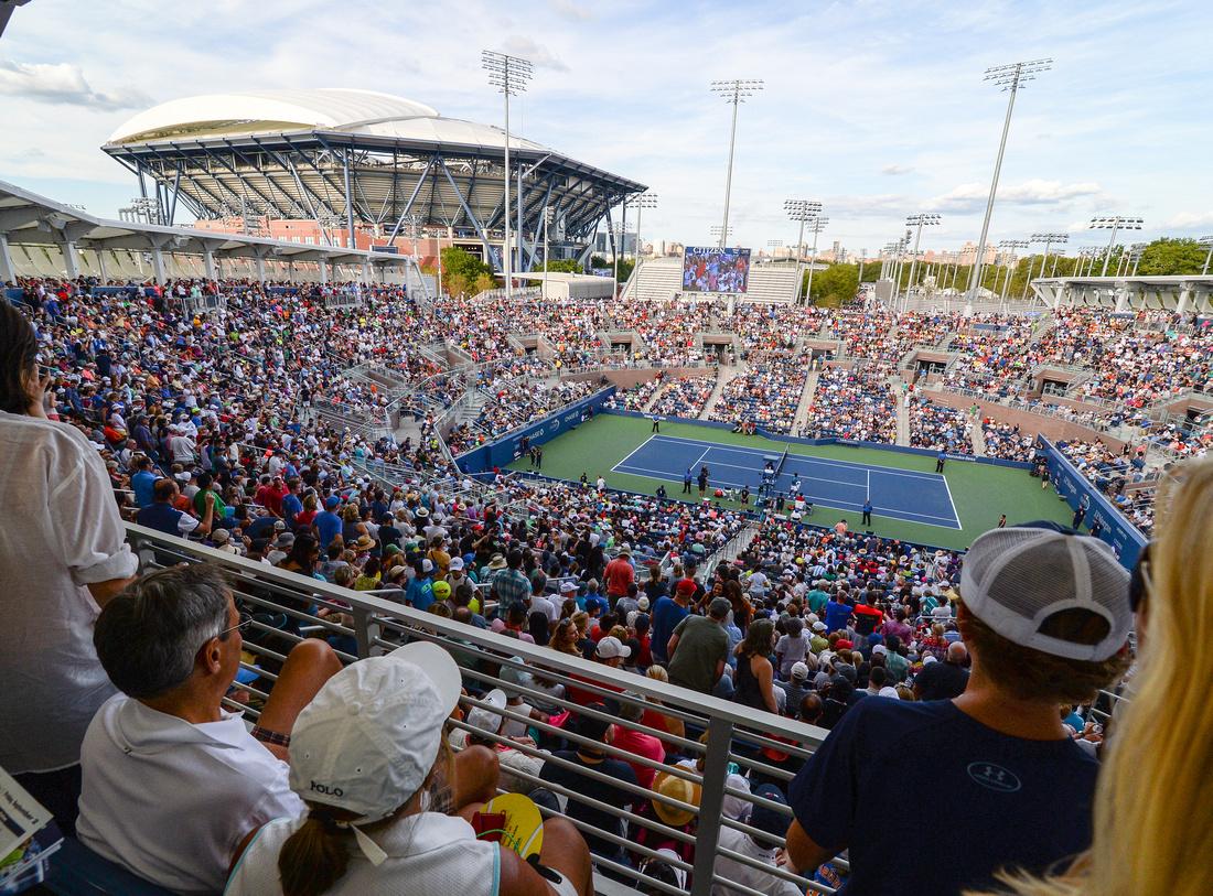 New Grandstand stadium, 2016 US Open