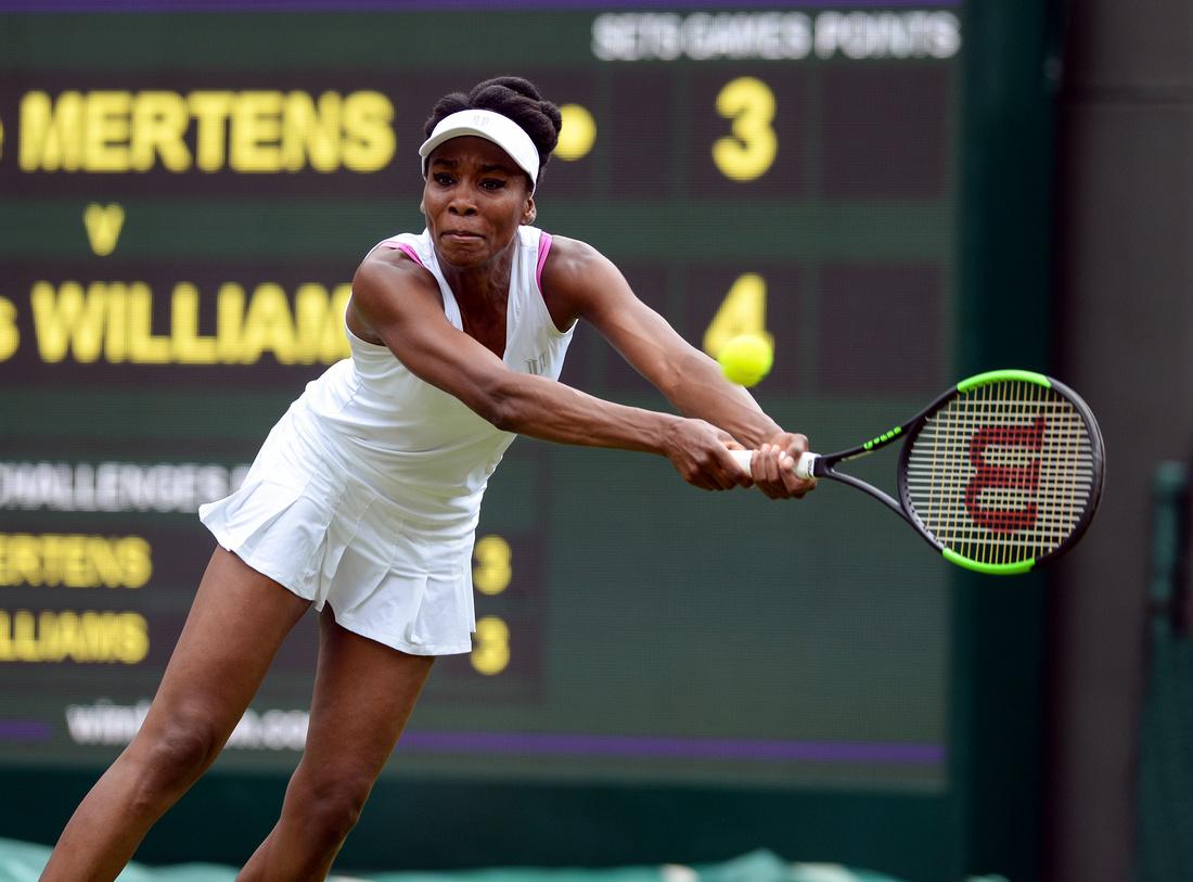 Wimbledon 2017 Day 1, Venus Williams