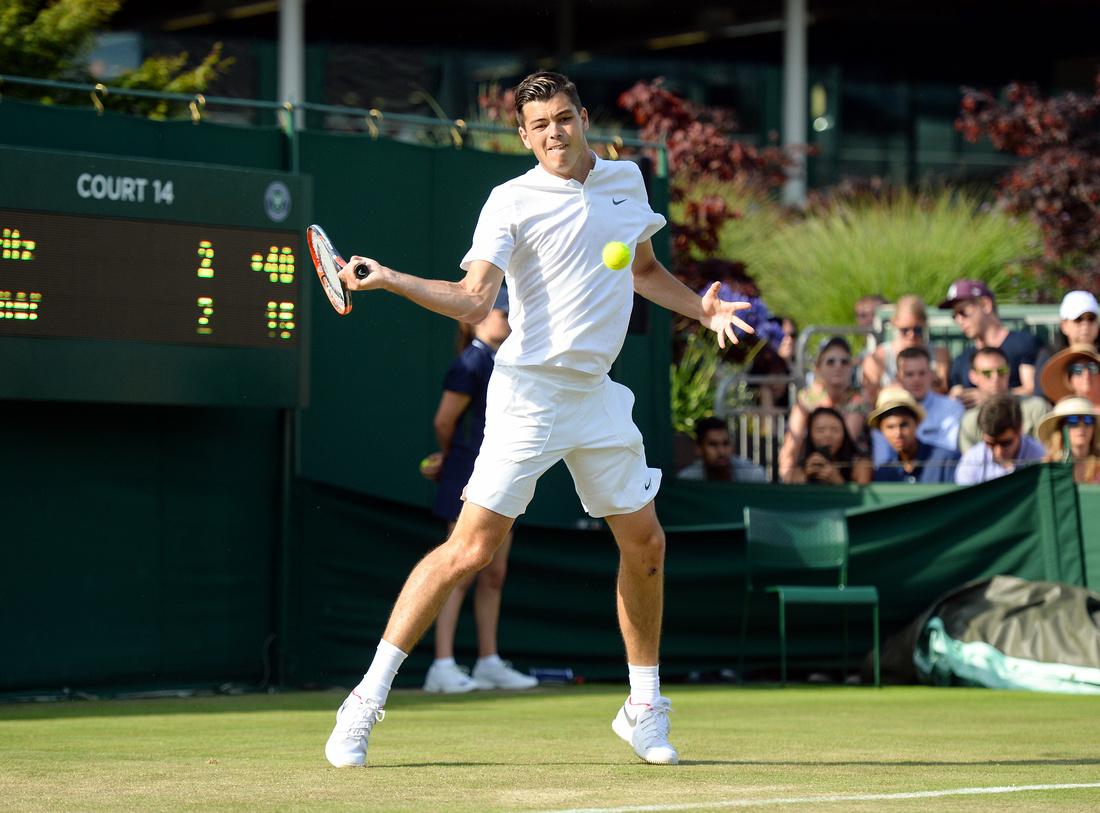 Wimbledon 2017 Day 2, Taylor Fritz