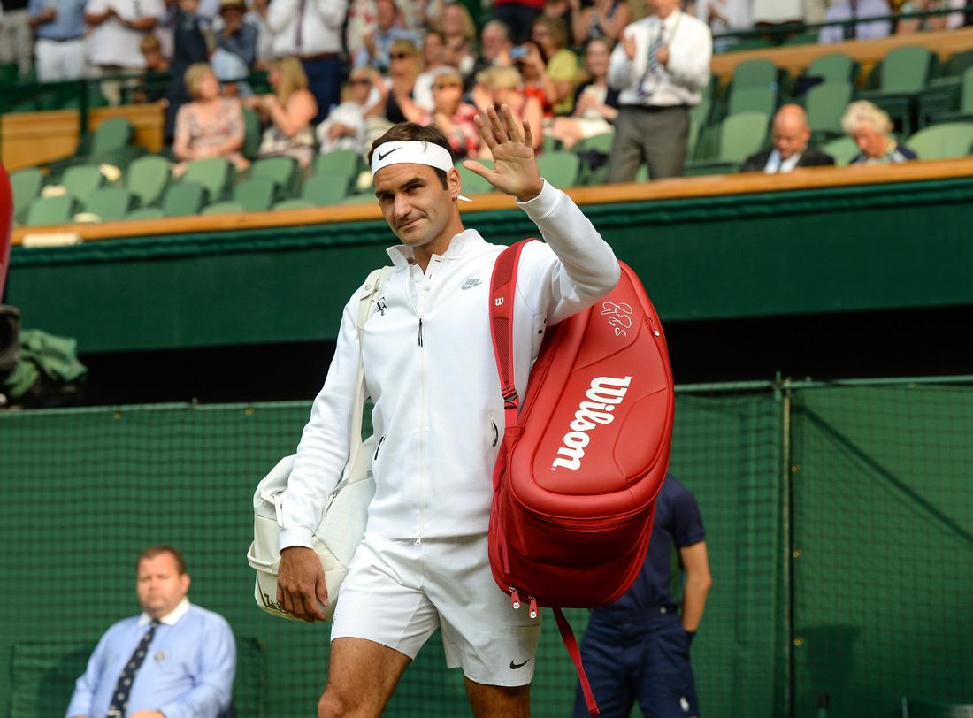 Wimbledon 2017 Day 4, Roger Federer