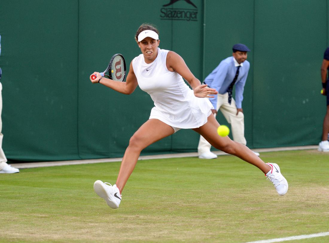 Wimbledon 2017 Day 3, Madison Keys