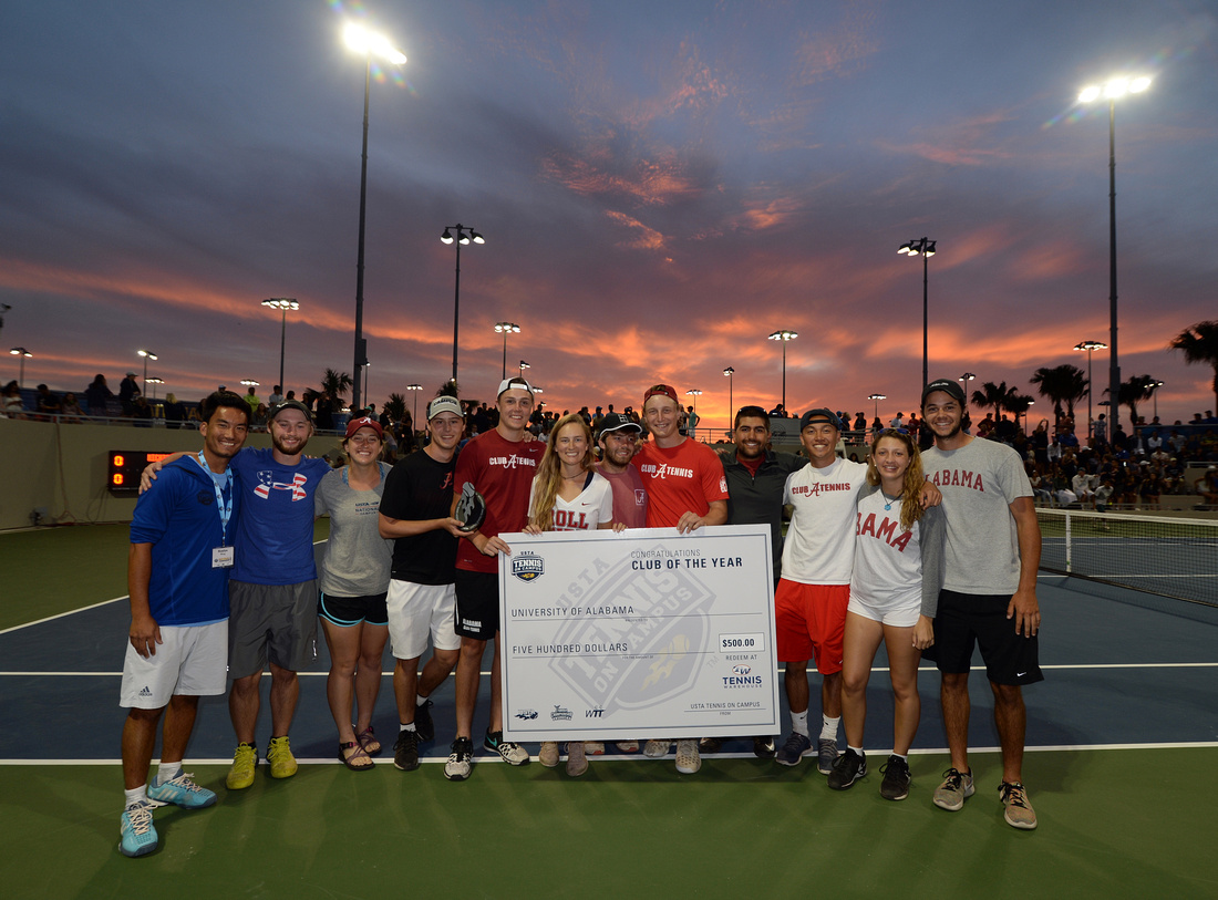 2017 Tennis On Campus National Championship, University of Alabama