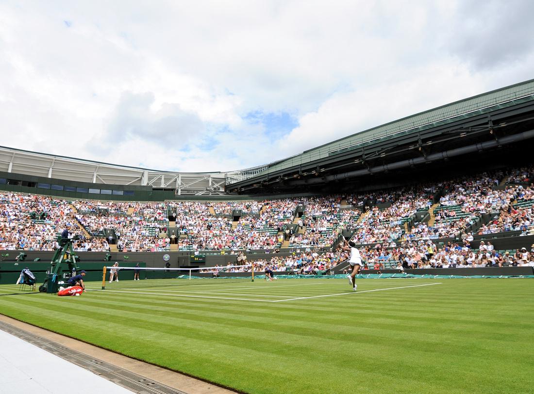 Wimbledon 2017 Day 1, Grounds