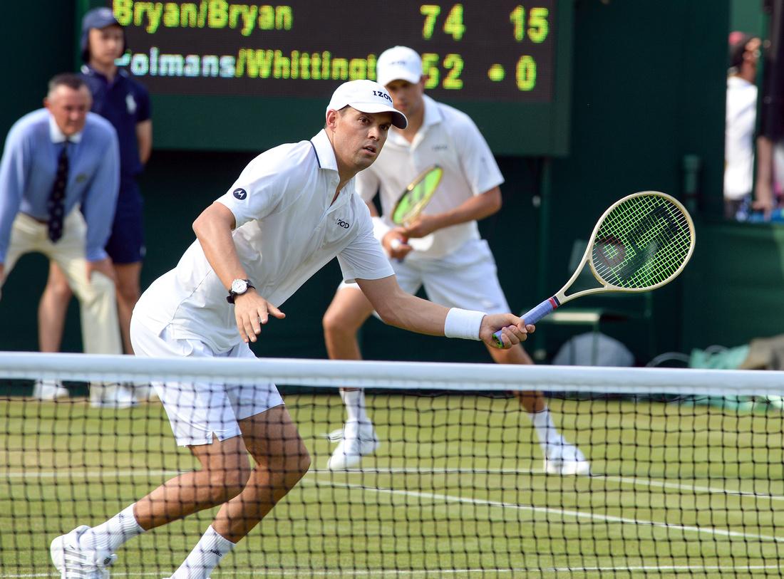 Wimbledon 2017 Day 4, Bob Bryan and Mike Bryan