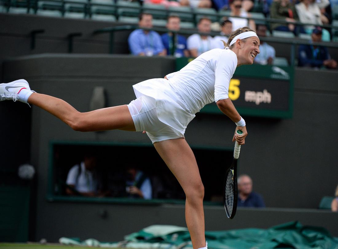 Wimbledon 2017 Day 1, Victoria Azarenka