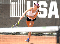 USTA Player Development clay-court training, CiCi Bellis