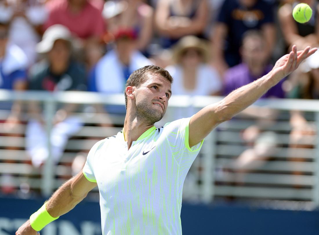 Grigor Dimitrov, 2016 US Open